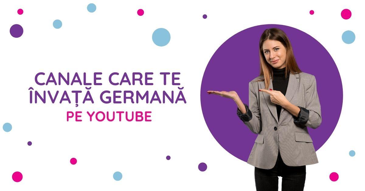 Canale care te invata germana pe youtube
