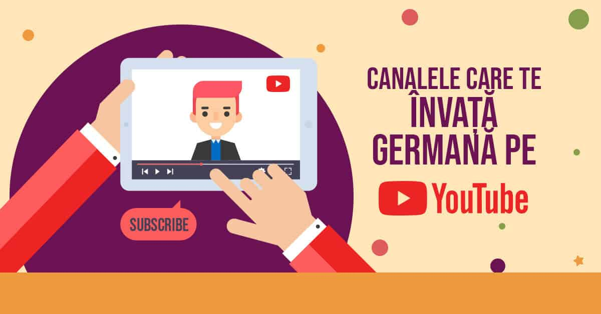 invata germana pe youtube