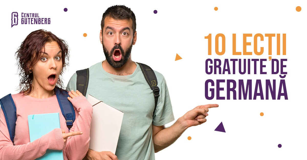 10 lectii de germana gratuite. invata germana rapid