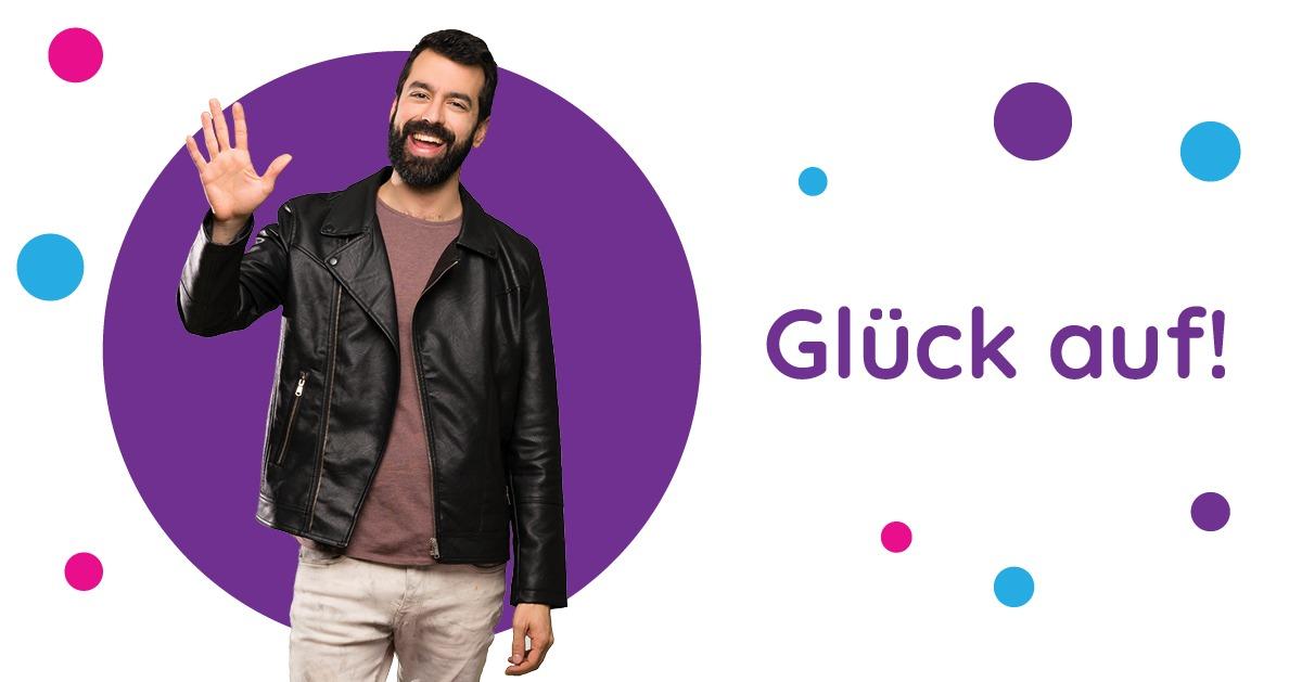 Saluturi în germană Glück auf!