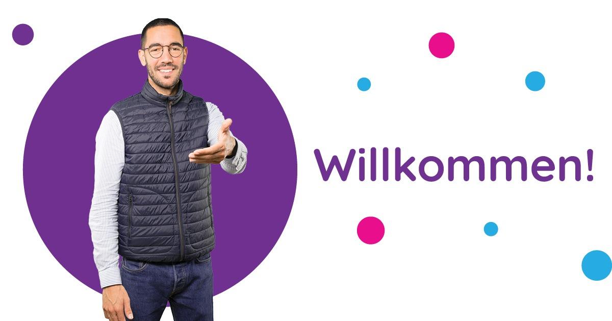 Saluturi în germană Willkommen!