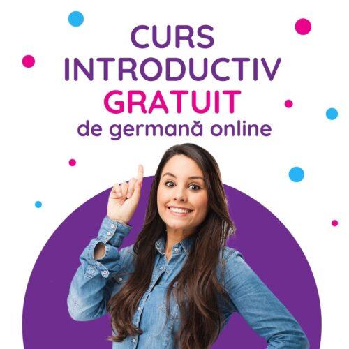 Curs introductiv gratuit de germană online