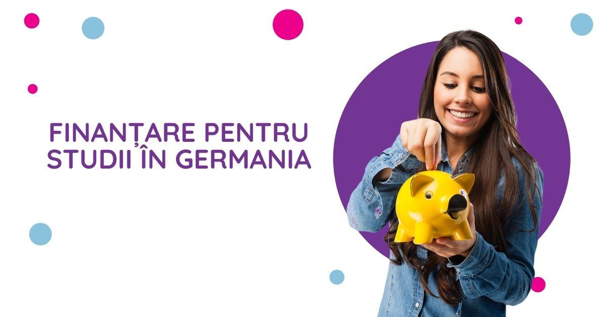 Studii in germania - finantare pentru studii